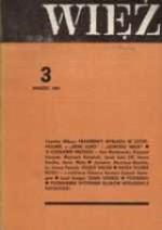 WIĘŹ, nr 3 (275)/1981 - praca zbiorowa, Jarosław Abramow-Newerly, Krzysztof Karasek, Czesław Miłosz, Iwona Smolka, Jacek Salij, Ewa Bieńkowska, Stefan Mirowski, Anna Wyka