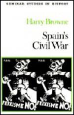 Spains' Civil War - Harry Browne