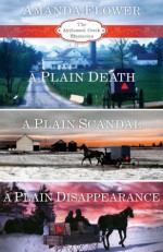 Amanda Flower's Appleseed Creek Trilogy: A Plain Death, A Plain Scandal, A Plain Disappearance (An Appleseed Creek Mystery) - Amanda Flower
