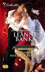 Billionaire's Marriage Bargain - Leanne Banks