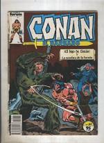 Conan el Barbaro primera edicion numero 031 (numerado 1 en trasera) - varios