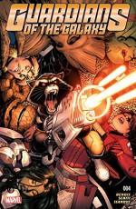 Guardians of the Galaxy (2015-) #4 - Valerio Schiti, Arthur G. Adams, Brian Michael Bendis
