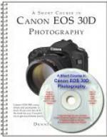 A Short Course In Canon Eos D30 Photography - Dennis P. Curtin