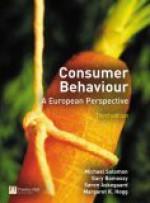 Consumer Behaviour: A European Perspective - Gary J. Bamossy, Michael R. Solomon