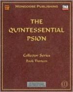 The Quintessential Psion - Sam Witt, Anne Stokes