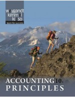 Accounting Principles, 10th Edition - Paul D. Kimmel, Jerry J. Weygandt, Donald E. Kieso
