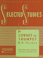 Selected Studies: Cornet or Trumpet (Rubank Educational Library) - H. Voxman
