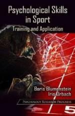 Psychological Skills in Sport: Training and Application. Edited by Boris Blumenstein and Iris Orbach - Boris Blumenstein