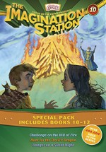 Imagination Station Books 3-Pack: Challenge on the Hill of Fire / Hunt for the Devil's Dragon / Danger on a Silent Night (AIO Imagination Station Books) - Marianne Hering, Marshal Younger, Wayne Thomas Batson