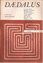 Daedalus, Journal of the American Academy of Arts and Sciences: Volume 89, Number 4, Fall 1960 - Gerald Holton, Stephen R. Graubard, Edward Teller, Erich Fromm, Hubert H. Humphrey, Henry A. Kissinger