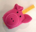 Cosy Cuddlers: Pig [With Plush Pig Head Attached] - Jo Lodge