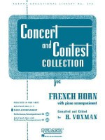 Concert and Contest Collection: French Horn - Piano Accompaniment (Rubank Solo Collection) (Rubank Educational Library) - H. Voxman