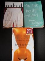 David Sedaris Books (Naked+Me Talk Pretty One Day+Dress Your Family in Corduroy & Denim) - David Sedaris