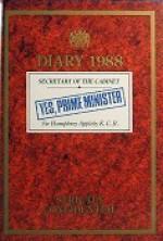Diary 1988: Secretary of the Cabinet Sir Humphrey Appleby K.C.B - Jonathan Lynn, Antony Jay