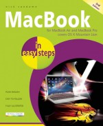 MacBook in Easy Steps: Covers OS X Mountain Lion - Nick Vandome