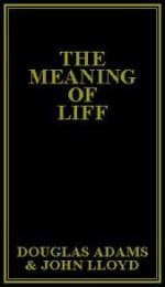 The Meaning of Liff - John Lloyd, Douglas Adams