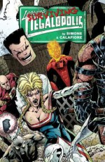 Leaving Megalopolis: Surviving Megalopolis - Gail Simone, Jason Wright, J. Calafiore
