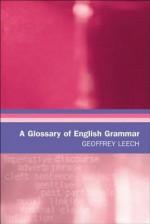 A Glossary of English Grammar - Cora Kaplan
