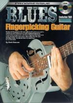 Blues Fingerpicking Guitar Method [With CD] - Brett Duncan