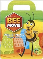 Bee Movie Mix & Match Puzzle Book - Loki, Koelsch Studios, MADA Design