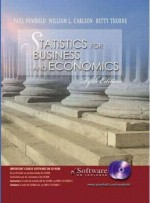 Statistics for Business and Economics and Student CD-ROM (International Edition) - Paul Newbold, William L. Carlson, Betty M. Thorne