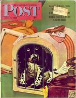 Saturday Evening Post Magazine - July 15, 1944 - Guy Gilpatric, Forrest Davis, Agatha Christie, J.D. Salinger