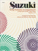 String Orchestra Accompaniments to Solos from Volumes 1 & 2: Score - Paul Schwartz, Diana Kendall, John Kendall
