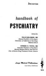 Handbook of psychiatry - Philip Solomon