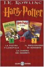 Harry Potter: La pietra filosofaleLa camera dei segretiIl prigioniero di Azkaban (3 vol.) - Serena Daniele, Serena Riglietti, Marina Astrologo, J.K. Rowling