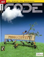 CODE Magazine - 2010 SepOct - Rod Paddock, Paul Sheriff, Sahil Malik, Rick Garibay, John V Petersen, Dane Morgridge, Kevin S Goff, Beth Massi, Bilal Haidar, CODE Magazine