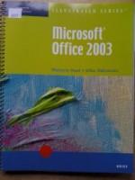 Microsoft Office 2003-Illustrated Brief - Marjorie S. Hunt, Michael Halvorson