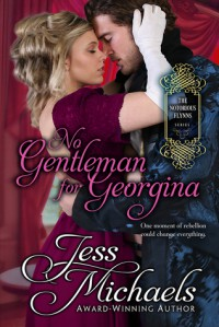 No Gentleman for Georgina - Jess Michaels