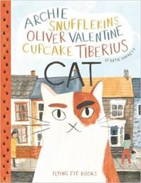 Archie Snufflekins Oliver Valentine Cupcake Tiberius Cat - Katie Harnett