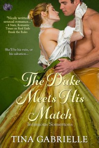 The Duke Meets His Match - Tina Gabrielle