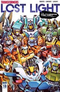 Transformers: Lost Light #10 - Jack Lawrence, James Lamar Roberts