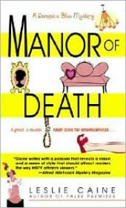 Manor of Death - Leslie Caine