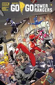 Saban's Go Go Power Rangers #3 - Ryan Parrott, Dan Mora