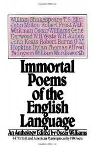 Immortal Poems of the English Language - Oscar Williams