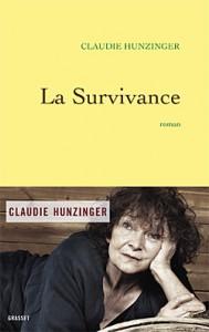 La survivance - Claudie Hunzinger