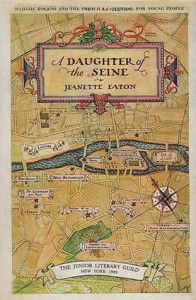 A Daughter Of The Seine: The Life Of Madame Roland - Jeanette Eaton