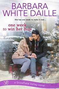 One Week to Win Her Boss (Snowflake Valley) - Barbara White Daille