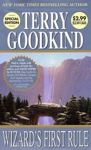 WIZARDS FIRST RULE-24DP - Terry Goodkind