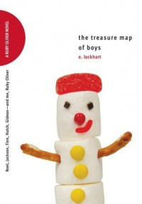 The Treasure Map of Boys: Noel, Jackson, Finn, Hutch, Gideon—and me, Ruby Oliver  - E. Lockhart