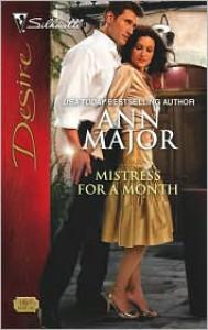 Mistress for a Month (Silhouette Desire, #1869) - Ann Major