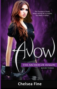 Avow (The Archers of Avalon, Book Three) - Chelsea Fine