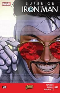 Superior Iron Man (2014-2015) #3 - Tom    Taylor, Yildiray Cinar, Mike Choi