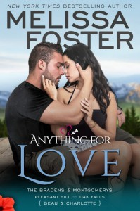 Anything for Love – The Bradens & Montgomerys (Pleasant Hill – Oak Falls) - Melissa Foster