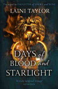 Days of Blood and Starlight (Daughter of Smoke and Bone Trilogy) - Laini Taylor