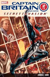 Captain Britain And Mi13: Secret Invasion - Paul Cornell