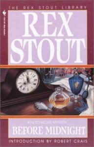Before Midnight - Rex Stout, Robert Crais